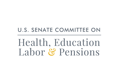 US Senate Committee Health, Education, and Labor Pensions Logo